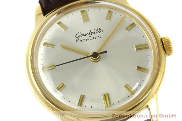 Used luxury watch Glashütte * gold-plated manual winding Kal. 69.1  | 151205 02