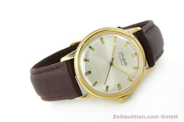 Used luxury watch Glashütte * gold-plated manual winding Kal. 69.1  | 151205 03