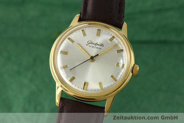 Used luxury watch Glashütte * gold-plated manual winding Kal. 69.1  | 151205 04