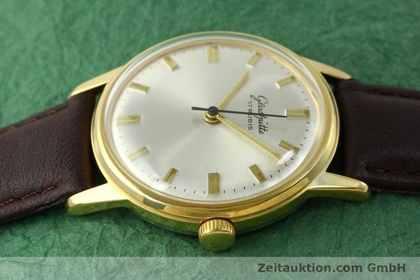 Used luxury watch Glashütte * gold-plated manual winding Kal. 69.1  | 151205 05