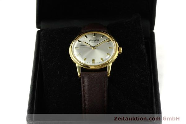 Used luxury watch Glashütte * gold-plated manual winding Kal. 69.1  | 151205 07