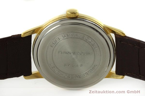 Used luxury watch Glashütte * gold-plated manual winding Kal. 69.1  | 151205 09