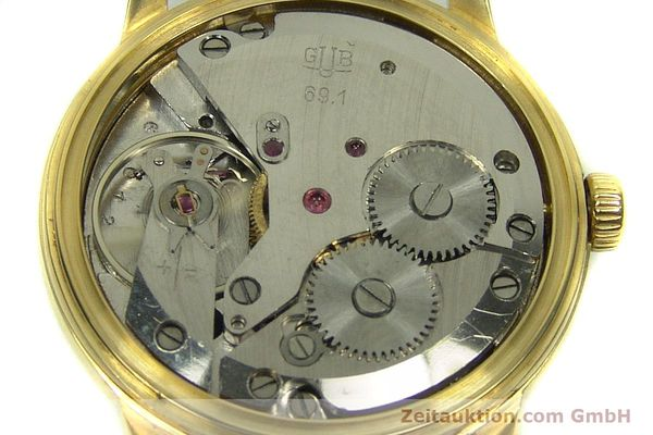 Used luxury watch Glashütte * gold-plated manual winding Kal. 69.1  | 151205 10