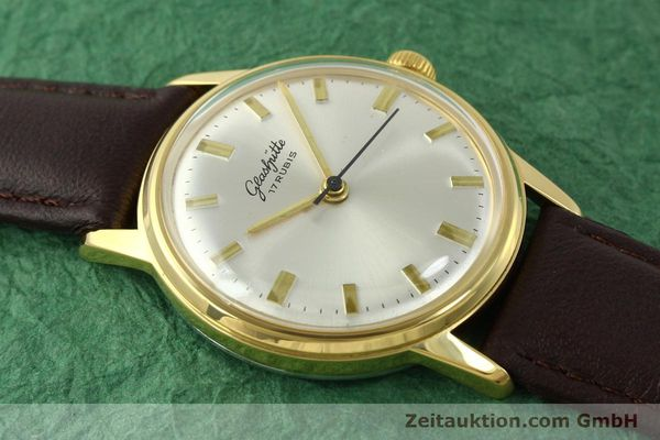 Used luxury watch Glashütte * gold-plated manual winding Kal. 69.1  | 151205 12