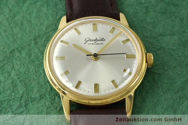 Used luxury watch Glashütte * gold-plated manual winding Kal. 69.1  | 151205 13