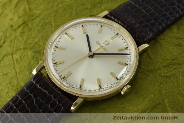 Used luxury watch Omega * 14 ct yellow gold manual winding Kal. 601 Ref. P-6638 VINTAGE  | 151212 01