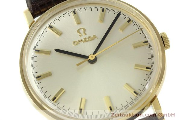 Used luxury watch Omega * 14 ct yellow gold manual winding Kal. 601 Ref. P-6638 VINTAGE  | 151212 02