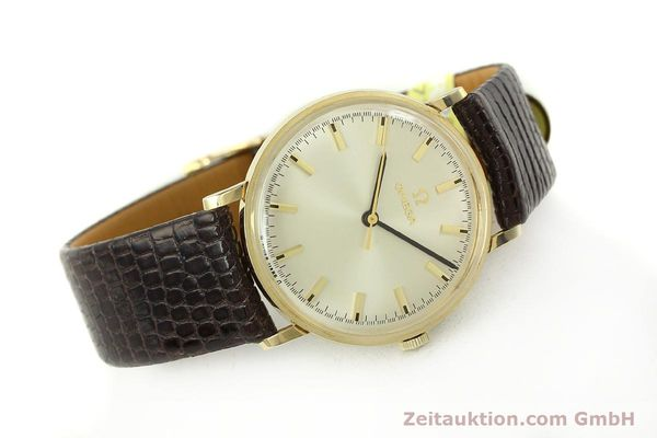Used luxury watch Omega * 14 ct yellow gold manual winding Kal. 601 Ref. P-6638 VINTAGE  | 151212 03