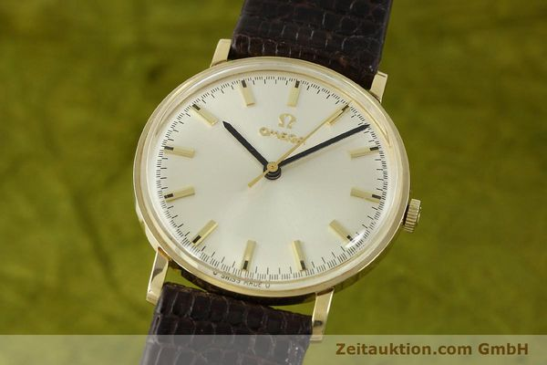 Used luxury watch Omega * 14 ct yellow gold manual winding Kal. 601 Ref. P-6638 VINTAGE  | 151212 04