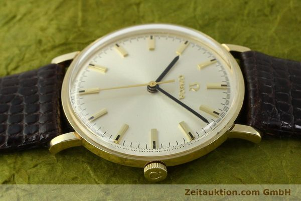 Used luxury watch Omega * 14 ct yellow gold manual winding Kal. 601 Ref. P-6638 VINTAGE  | 151212 05