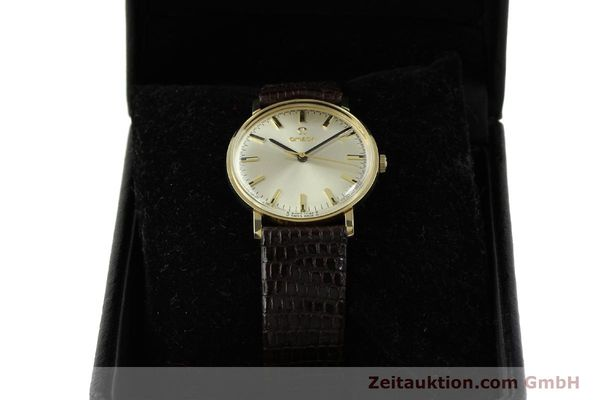 Used luxury watch Omega * 14 ct yellow gold manual winding Kal. 601 Ref. P-6638 VINTAGE  | 151212 07