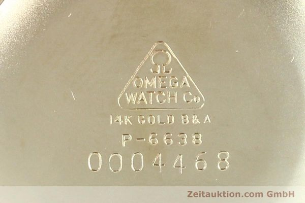 Used luxury watch Omega * 14 ct yellow gold manual winding Kal. 601 Ref. P-6638 VINTAGE  | 151212 09