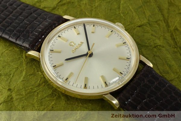 Used luxury watch Omega * 14 ct yellow gold manual winding Kal. 601 Ref. P-6638 VINTAGE  | 151212 15