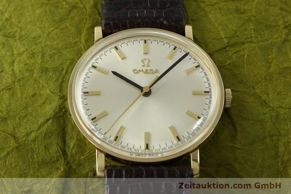 Used luxury watch Omega * 14 ct yellow gold manual winding Kal. 601 Ref. P-6638 VINTAGE  | 151212 16