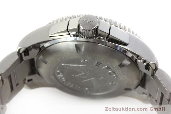 Used luxury watch Longines Hydro Conquest chronograph steel automatic Kal. L 667.2 ETA 7750 Ref. 9165 L3.673.4  | 151213 11