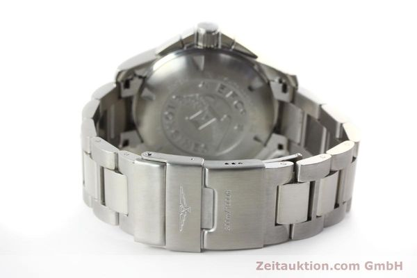 Used luxury watch Longines Hydro Conquest chronograph steel automatic Kal. L 667.2 ETA 7750 Ref. 9165 L3.673.4  | 151213 12