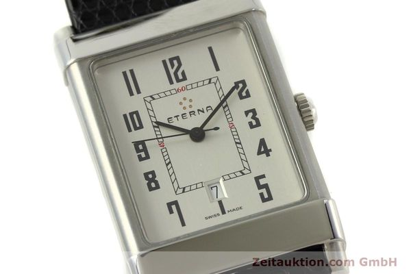 Used luxury watch Eterna 1935 steel automatic Kal. ETA 2681 Ref. 8490.41  | 151214 02