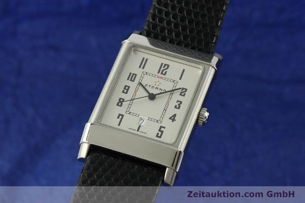 Used luxury watch Eterna 1935 steel automatic Kal. ETA 2681 Ref. 8490.41  | 151214 04