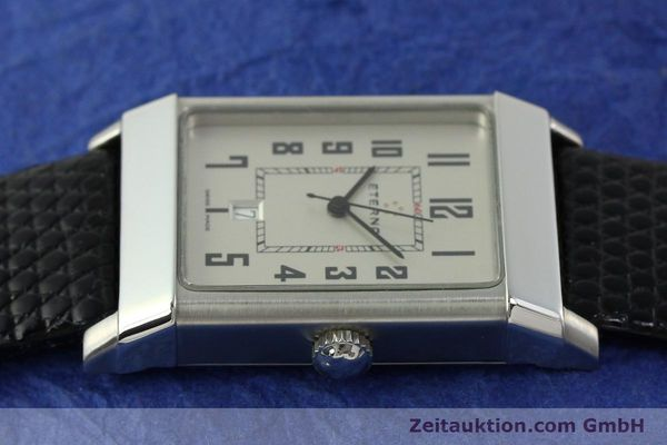 Used luxury watch Eterna 1935 steel automatic Kal. ETA 2681 Ref. 8490.41  | 151214 05