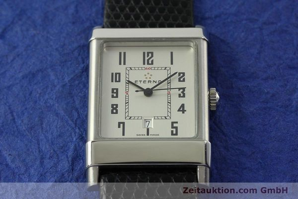 Used luxury watch Eterna 1935 steel automatic Kal. ETA 2681 Ref. 8490.41  | 151214 16