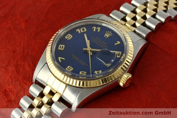 montre de luxe d occasion Rolex Datejust acier / or  automatique Kal. 3035 Ref. 16013  | 151232 01