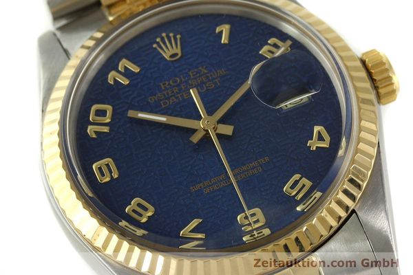 montre de luxe d occasion Rolex Datejust acier / or  automatique Kal. 3035 Ref. 16013  | 151232 02