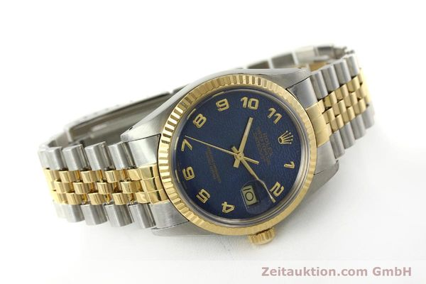 montre de luxe d occasion Rolex Datejust acier / or  automatique Kal. 3035 Ref. 16013  | 151232 03