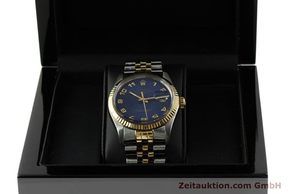 montre de luxe d occasion Rolex Datejust acier / or  automatique Kal. 3035 Ref. 16013  | 151232 07
