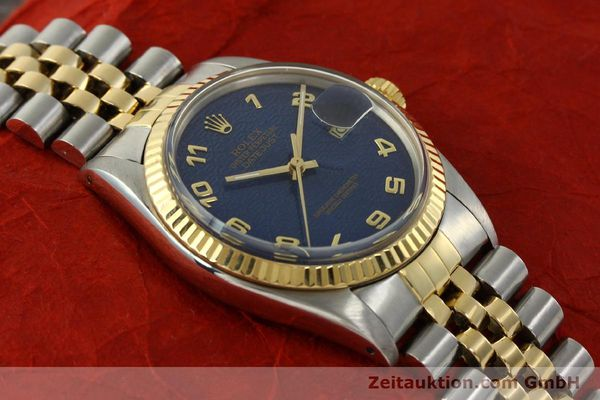 montre de luxe d occasion Rolex Datejust acier / or  automatique Kal. 3035 Ref. 16013  | 151232 15