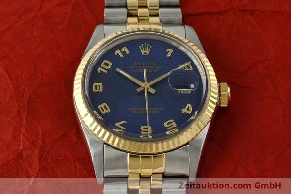 montre de luxe d occasion Rolex Datejust acier / or  automatique Kal. 3035 Ref. 16013  | 151232 16