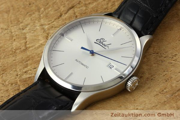 Used luxury watch Ebel Classic 100 steel automatic Kal. 49 ETA 2892-A2 Ref. E9120R41 LIMITED EDITION | 151233 01