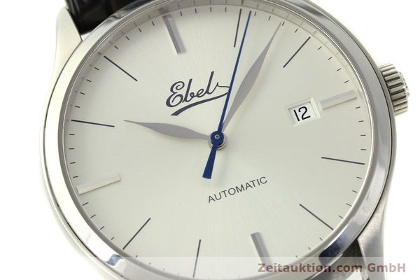 Used luxury watch Ebel Classic 100 steel automatic Kal. 49 ETA 2892-A2 Ref. E9120R41 LIMITED EDITION | 151233 02