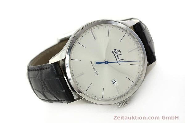 Used luxury watch Ebel Classic 100 steel automatic Kal. 49 ETA 2892-A2 Ref. E9120R41 LIMITED EDITION | 151233 03