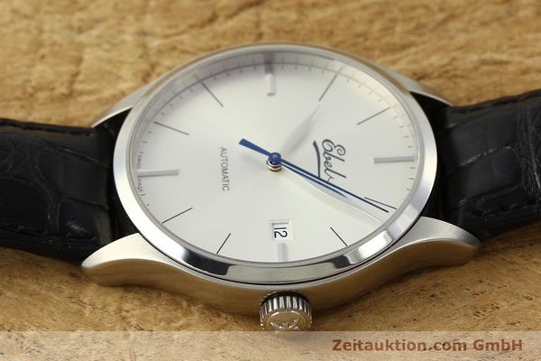 Used luxury watch Ebel Classic 100 steel automatic Kal. 49 ETA 2892-A2 Ref. E9120R41 LIMITED EDITION | 151233 05
