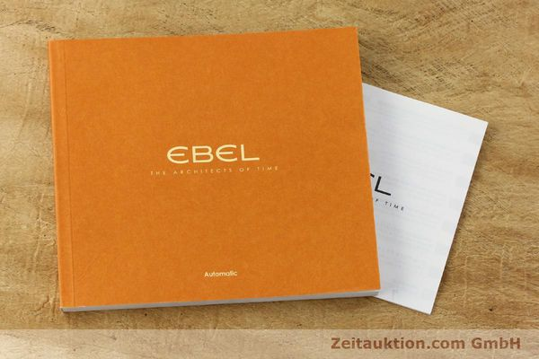 Used luxury watch Ebel Classic 100 steel automatic Kal. 49 ETA 2892-A2 Ref. E9120R41 LIMITED EDITION | 151233 08