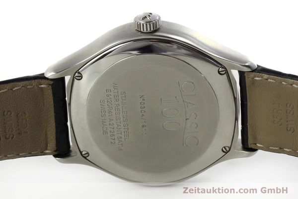 Used luxury watch Ebel Classic 100 steel automatic Kal. 49 ETA 2892-A2 Ref. E9120R41 LIMITED EDITION | 151233 09