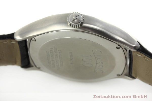 Used luxury watch Ebel Classic 100 steel automatic Kal. 49 ETA 2892-A2 Ref. E9120R41 LIMITED EDITION | 151233 11