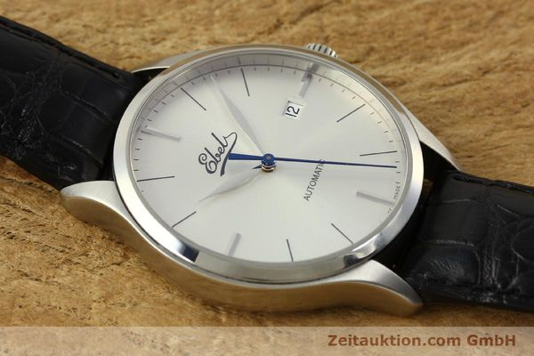 Used luxury watch Ebel Classic 100 steel automatic Kal. 49 ETA 2892-A2 Ref. E9120R41 LIMITED EDITION | 151233 15
