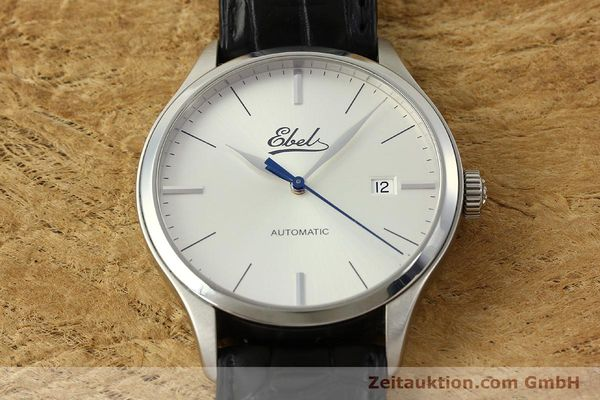 Used luxury watch Ebel Classic 100 steel automatic Kal. 49 ETA 2892-A2 Ref. E9120R41 LIMITED EDITION | 151233 16