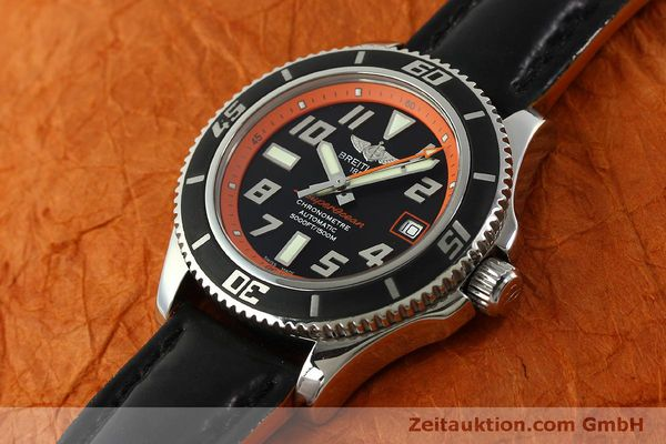 Used luxury watch Breitling Superocean steel automatic Kal. B17 ETA 2824-2 Ref. A17364 LIMITED EDITION | 151234 01