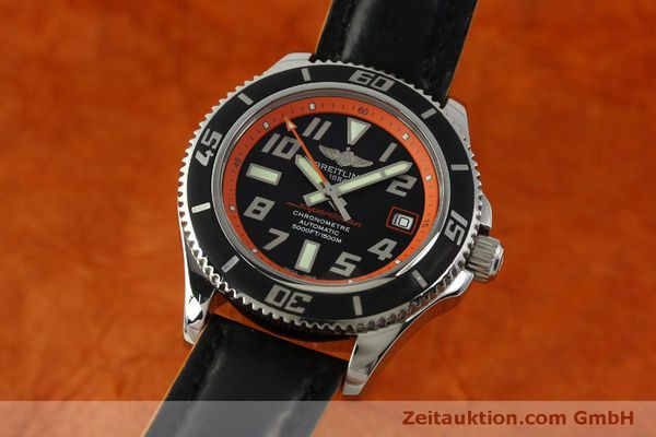 Used luxury watch Breitling Superocean steel automatic Kal. B17 ETA 2824-2 Ref. A17364 LIMITED EDITION | 151234 04