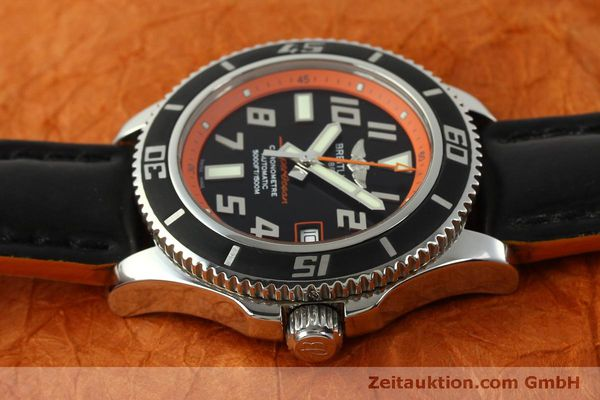 Used luxury watch Breitling Superocean steel automatic Kal. B17 ETA 2824-2 Ref. A17364 LIMITED EDITION | 151234 05