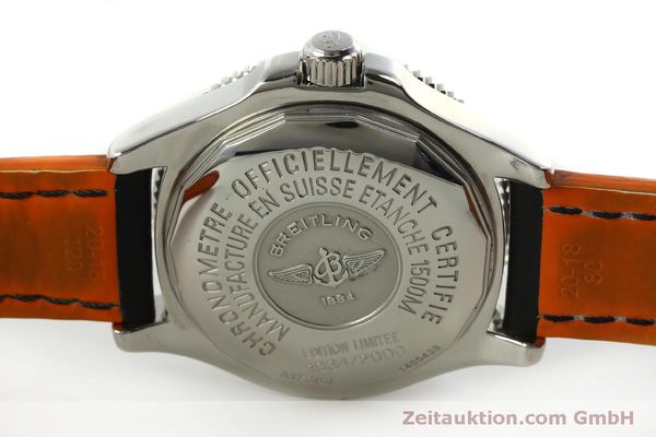 Used luxury watch Breitling Superocean steel automatic Kal. B17 ETA 2824-2 Ref. A17364 LIMITED EDITION | 151234 08