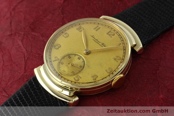 Used luxury watch IWC * 14 ct yellow gold manual winding Kal. 83 VINTAGE  | 151241 01