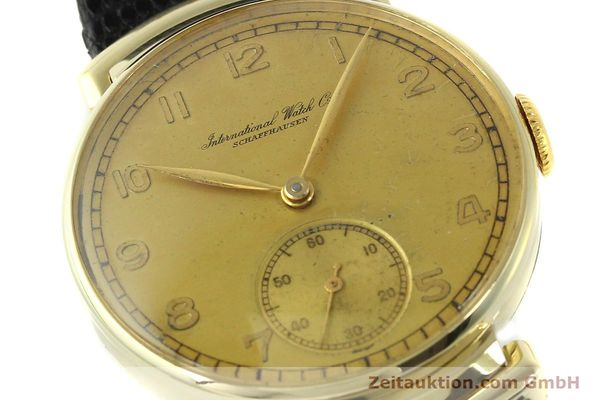 Used luxury watch IWC * 14 ct yellow gold manual winding Kal. 83 VINTAGE  | 151241 02