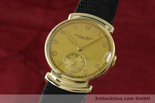 Used luxury watch IWC * 14 ct yellow gold manual winding Kal. 83 VINTAGE  | 151241 04