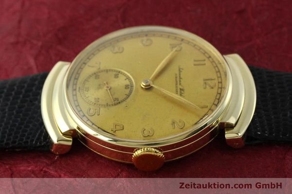 Used luxury watch IWC * 14 ct yellow gold manual winding Kal. 83 VINTAGE  | 151241 05