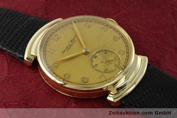 Used luxury watch IWC * 14 ct yellow gold manual winding Kal. 83 VINTAGE  | 151241 13