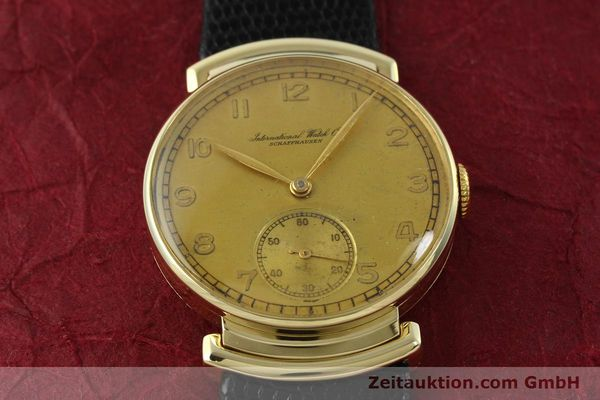 Used luxury watch IWC * 14 ct yellow gold manual winding Kal. 83 VINTAGE  | 151241 14