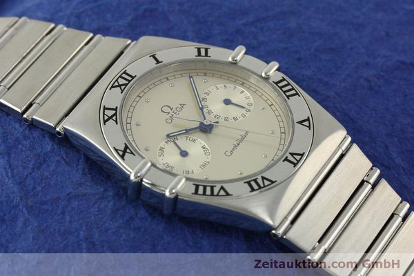 Used luxury watch Omega Constellation steel quartz Kal. 1444 ETA 255471 Ref. 3961070, 3961080  | 151242 13
